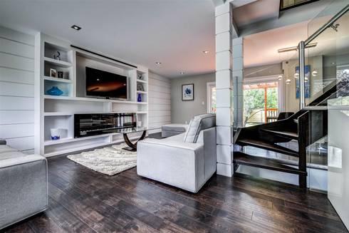 Elderfield Cres: modern Living room by Contempo Studio