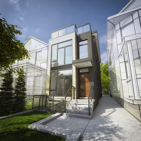 Crawford St: modern Houses by Contempo Studio
