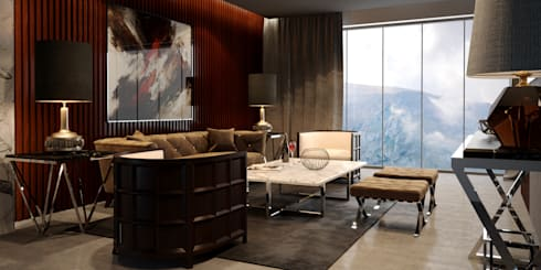 ARMONIA Furniture Collection ( I ): modern Living room by MFInteriors