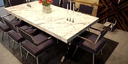 ARMONIA Furniture Collection ( I ): modern Dining room by MFInteriors