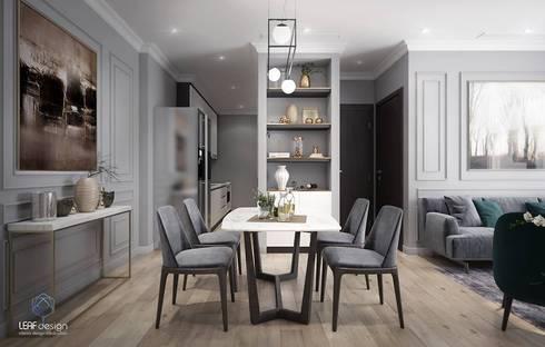 MASTERI THẢO ĐIỀN, D2:  Nhà bếp by LEAF Design