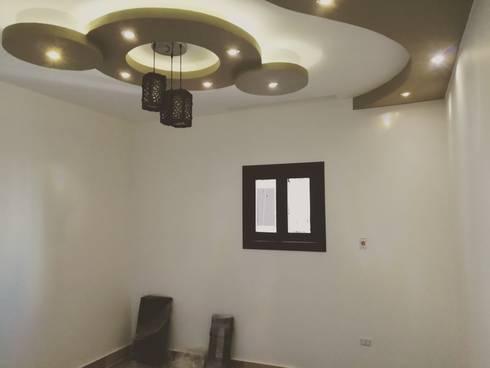 Mr. Taha's Apartment:  غرفة الاطفال تنفيذ Etihad Constructio & Decor