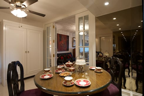 Premium home interior designs: asian Dining room by Bric Design Group