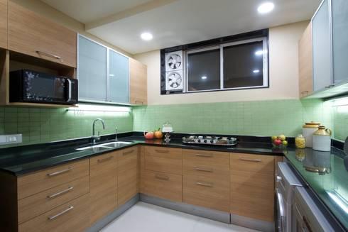 Premium home interior designs: asian Kitchen by Bric Design Group