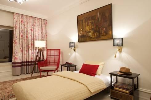 Premium home interior designs: asian Bedroom by Bric Design Group