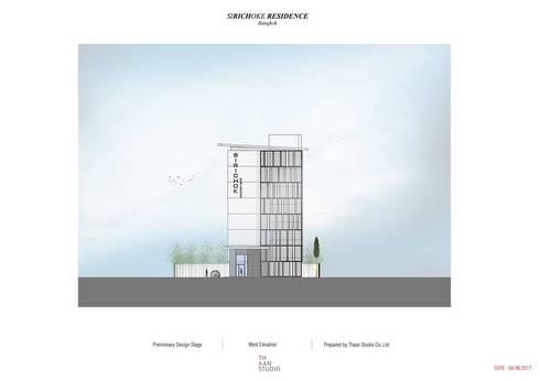 Sirichok Residence:   by Thaan Studio
