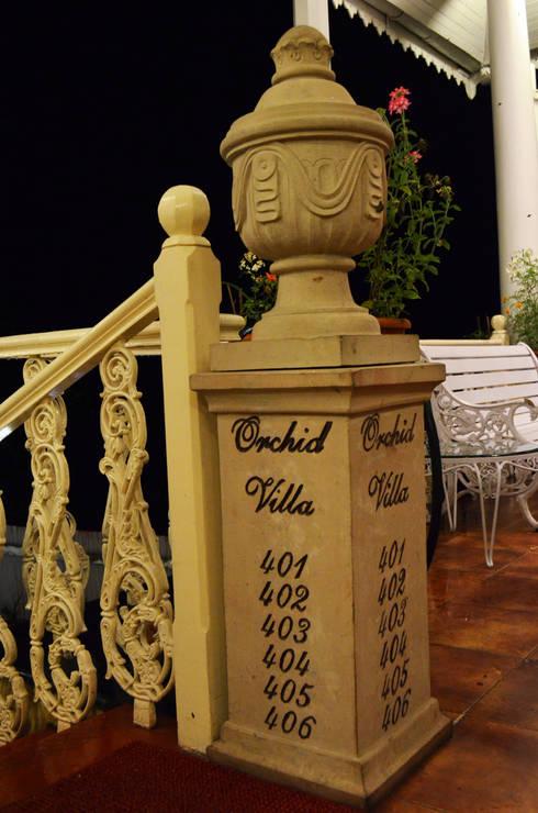Mayfair Hotel and Resorts:  Corridor, hallway & stairs  by Karara Mujassme India