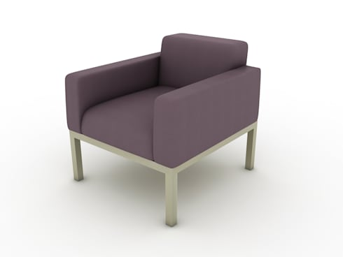 3D Visualization Services—3D CAD Models of Architectural and Furniture Products: modern Living room by Hi-Tech CADD Services