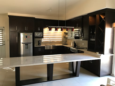 Cocina de barra extendida de caoba muebles homify cocina de barra extendida thecheapjerseys Choice Image