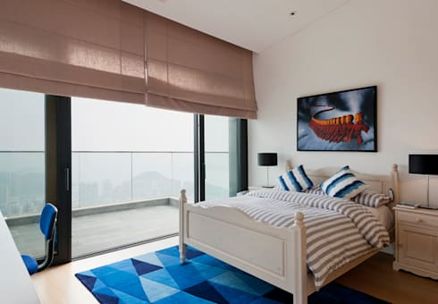 Boy's Bedroom: modern Bedroom by Nicole Cromwell Interior Design
