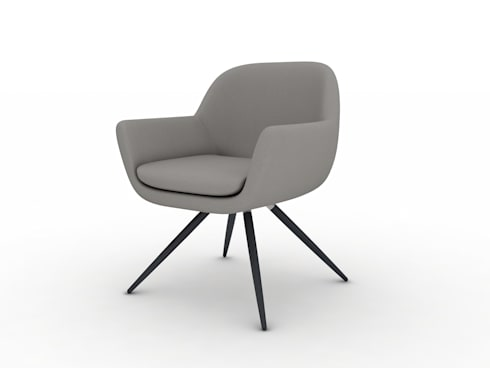 3D Rendering Services for Chair: modern Living room by TrueCADD