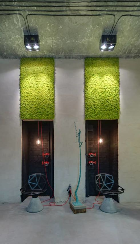 Dizapp Office - Moss wall decor by Moss Trend: modern Study/office by Moss Trend