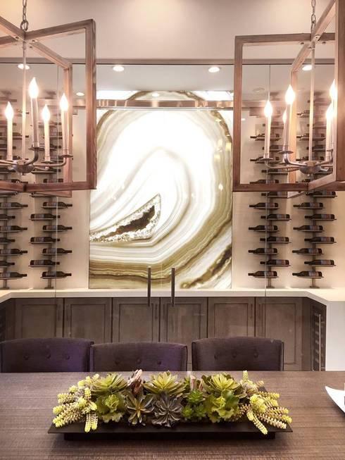 Alex Turco Art Designer: modern Wine cellar by S. T. Unicom Pvt. Ltd.