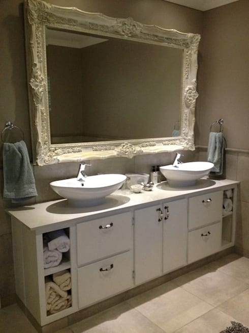 House Spies :  Bathroom by Redesign Interiors