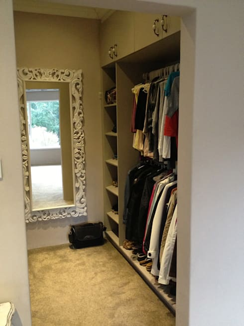 Dressing room by Redesign Interiors
