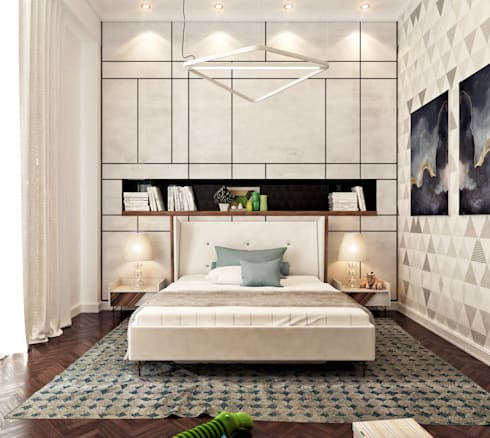 Bedroom Design:   by MO Designs