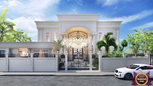 The best architect Katrina Antonovich: classic Houses by Luxury Antonovich Design