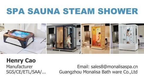 We Manufacturer Factory in Acrylic Swimming pools Bathtub Jacuzzi Saunas: modern Spa by SpaSaunaSteamShower