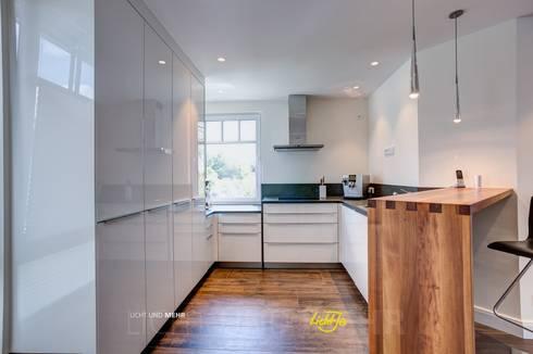 Beleuchtung Küche Penthouse: Moderne Küche Von LichtJa   Licht Und Mehr GmbH