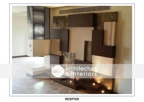 غرفة المعيشة تنفيذ DOT Architecture and Interior