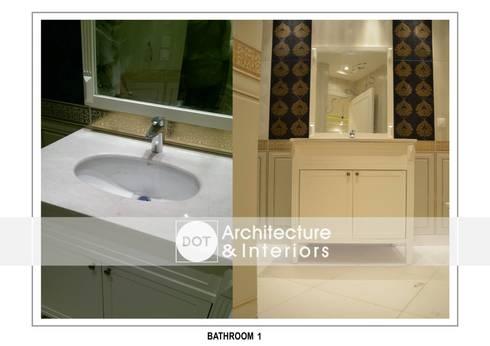 حمام تنفيذ DOT Architecture and Interior