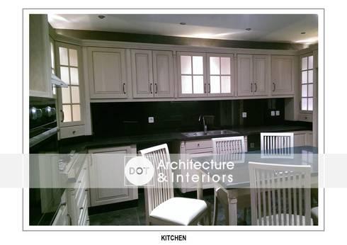 مطبخ تنفيذ DOT Architecture and Interior