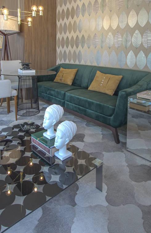 Гостиная в . Автор – Sgabello Interiores