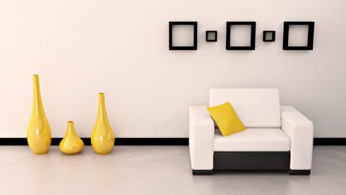 Interior Designers, Decorators and Design Services in Mumbai - Oxedea Interiors: modern Living room by Oxedea Interiors