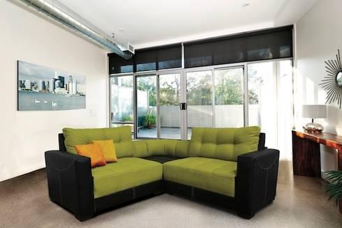 Salas para espacios reducidos de sofamex online homify for Salas espacios pequenos