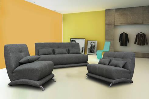 LAOS: Salas de estilo minimalista por SOFAMEX Online