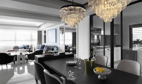 清新新古典:  餐廳 by 成綺空間設計