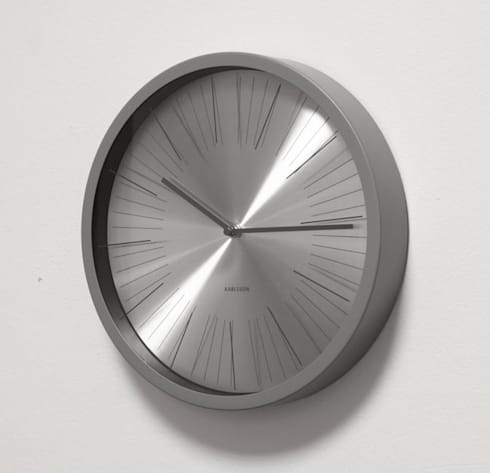 Karlsson Floating Stripes Wall Clock: modern Living room by Just For Clocks