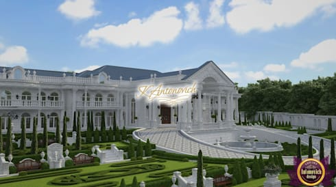 The architecture  art from Katrina Antonovich: classic Houses by Luxury Antonovich Design