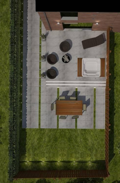Patios & Decks by Isabel Gomez Interiors