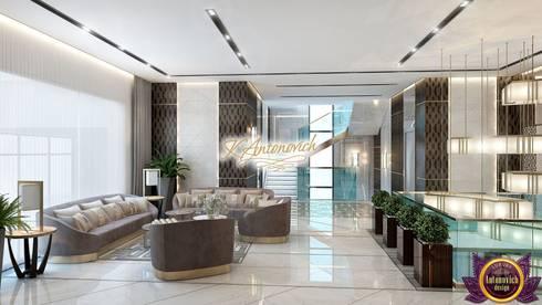 Perfect interior designs from Katrina Antonovich: modern Living room by Luxury Antonovich Design