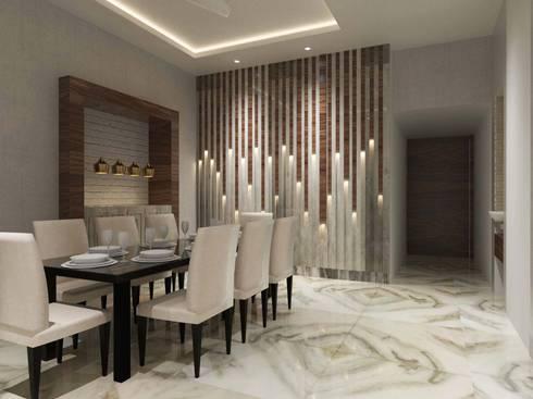 Contemporary design by Bhavana Jain Designs | homify