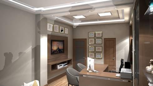 Diseño interior oficina gerencia von Savignano Design | homify