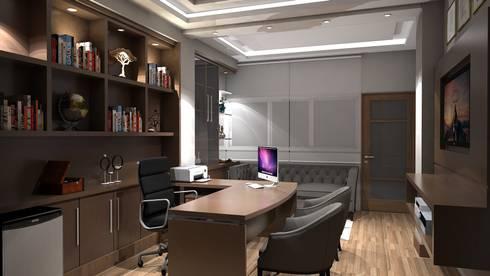 Diseño interior oficina gerencia de Savignano Design | homify