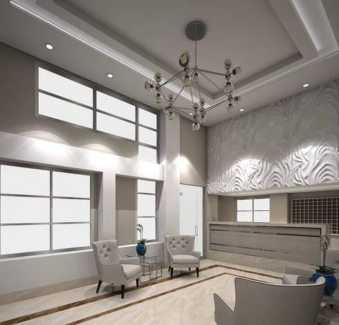 modern Living room by Savignano Design