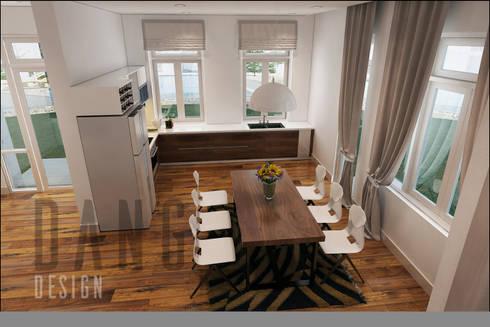 phòng ăn:  Phòng ăn by DCOR