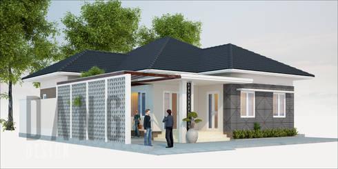 Nhà một tầng:  Nhà đồng quê by DCOR