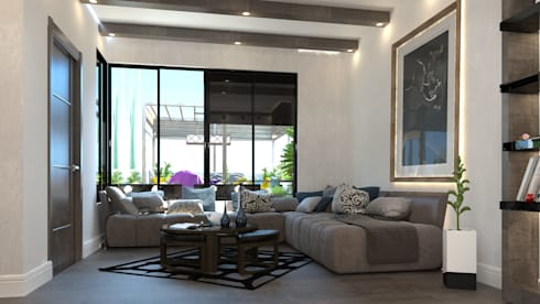 living room: modern Living room by AL-TRASS CREATIONS DESIGN