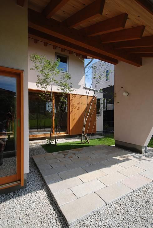 Rumah kayu by 神谷建築スタジオ