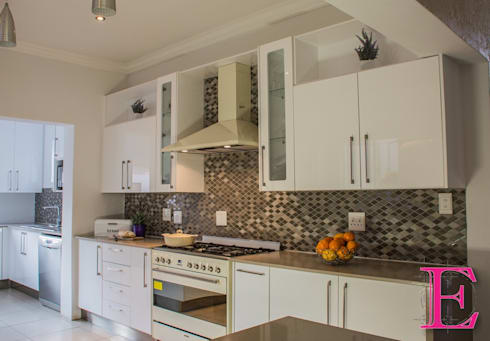 Kitchen units by Ergo Designer Kitchens and Cabinetry