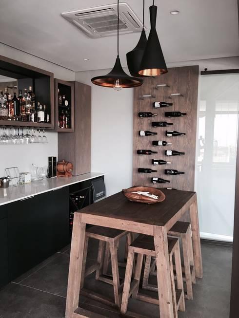 Izinga Park, Umhlanga :  Wine cellar by Urban Create Design Interiors