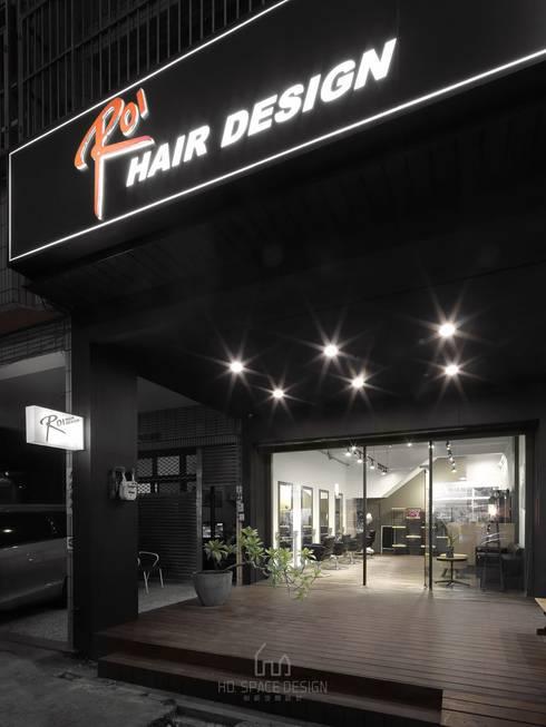 ROI髮廊:  商業空間 by Ho.space design 和薪室內裝修設計有限公司