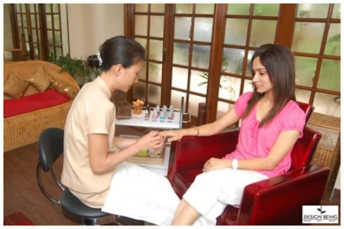 Nail Spa:  Commercial Spaces by Design Being