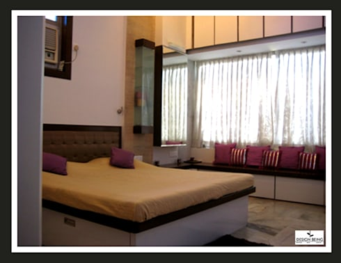 Residential project: modern Bedroom by Design Being