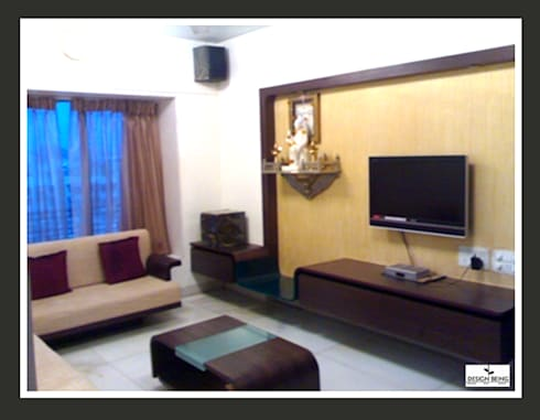 Residential project: modern Living room by Design Being