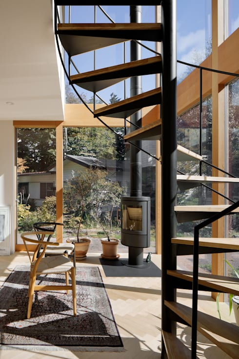 atelier137 ARCHITECTURAL DESIGN OFFICE의  실내 정원